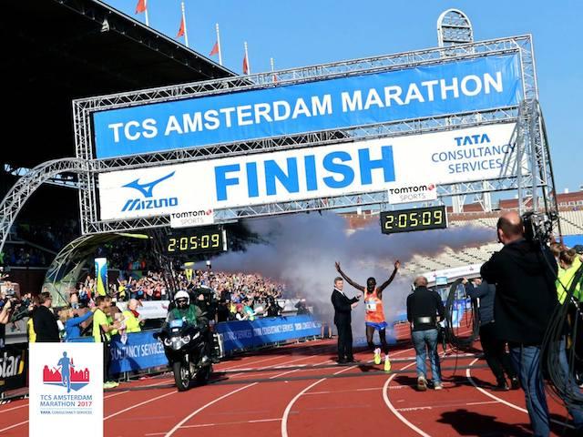 Амстердамский и другие марафоны выходных