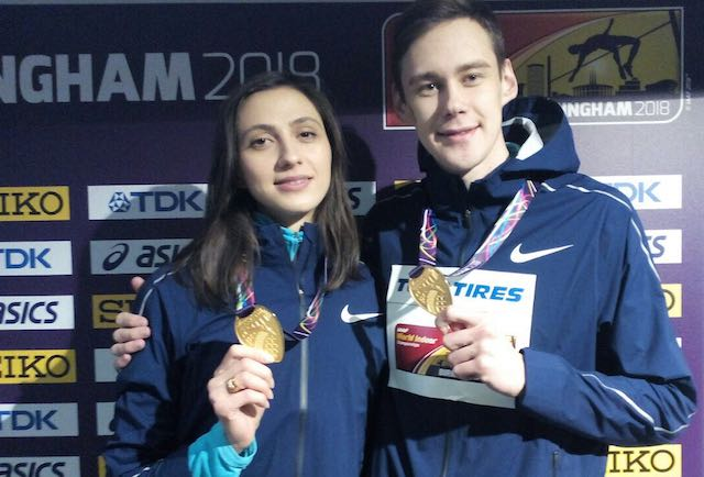 Свою победу непереоцениваю— русский легкоатлет Лысенко