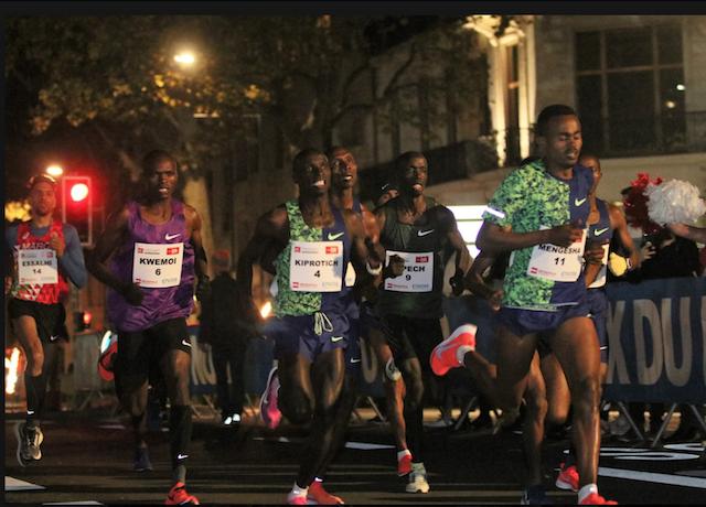 Мировой рекорд на 5 км