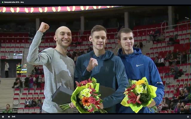 Легкоатлет Лысенко победил натурнире попрыжкам ввысоту вЧехии