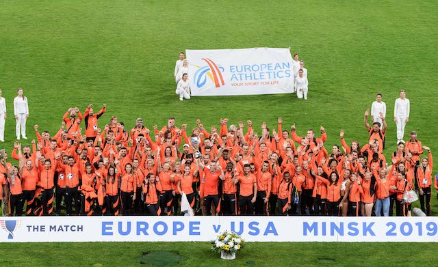 Сборная Европы выиграла матч Европа-США