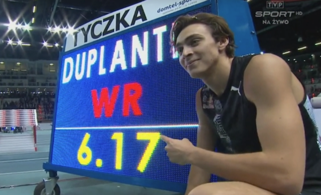 Мировой рекорд от Армана Дуплантиса!
