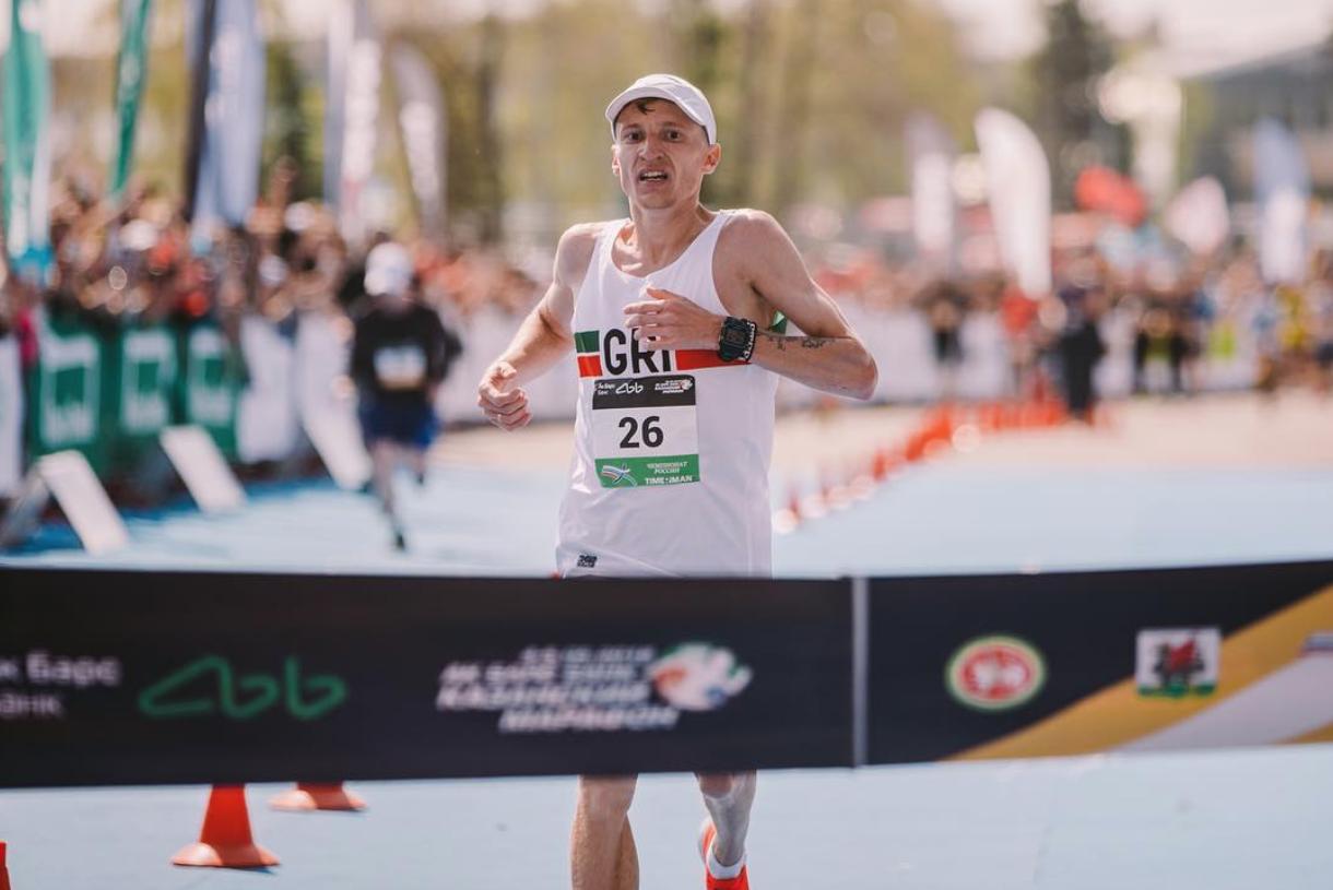 Киселев и Трофимова — лучшие марафонцы страны!