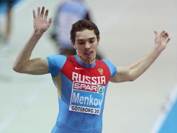 Александр Меньков – чемпион Европы в прыжках в длину с лучшим результатом сезона в мире!