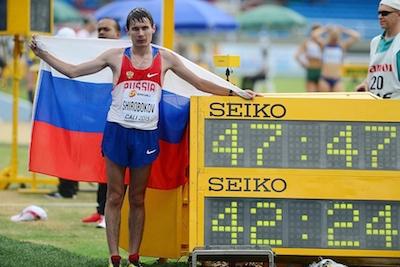 5 ходоков лишены статуса нейтральных спортсменов из-за Виктора Чегина