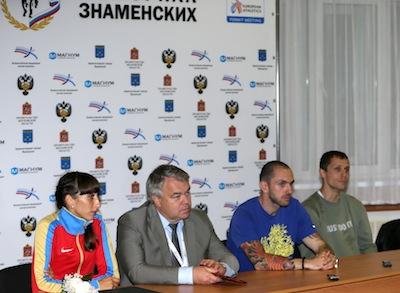 Итоговая пресс-конференция «Мемориала Знаменских»